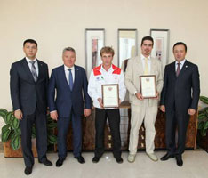 Состоялась встреча премьер-министра РТ и участников велокругосветки