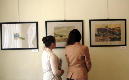 В Казани проводится выставка картин Д.И.Архангельского
