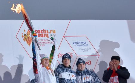 В Татарстане уже отметили старт эстафеты Олимпийского огня