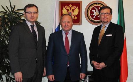 Равиль Ахметшин провел встречу с представителями татарской общины Финляндии