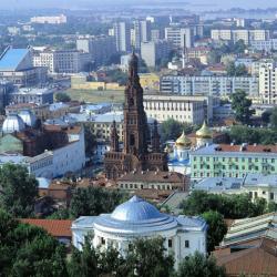 Про музыку у магазинов, катера и двухэтажныые автобусы в Казани