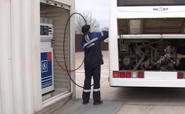 Мобильная  газозаправка заработала в Нижнекамске