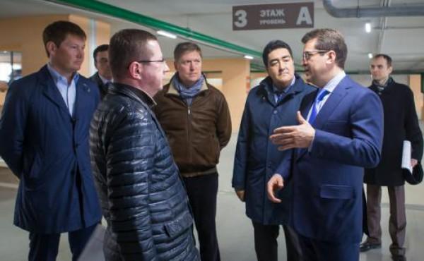Новая многоуровневая парковка открылась в Казани