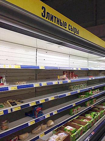 """Санкции """"съели"""" продукты"""