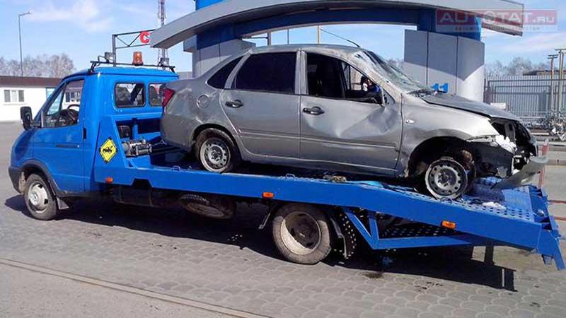 Житель Казани похитил автомобиль с помощью эвакуатора