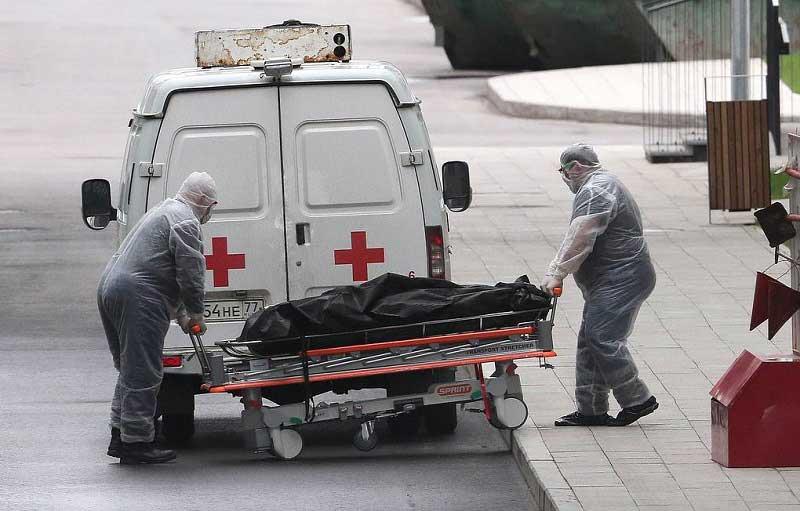 За сутки в России от коронавируса умерли 95 человек